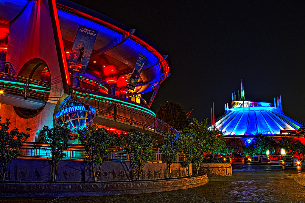 Disneyland Tomorrowland I Probably Should Have Used My