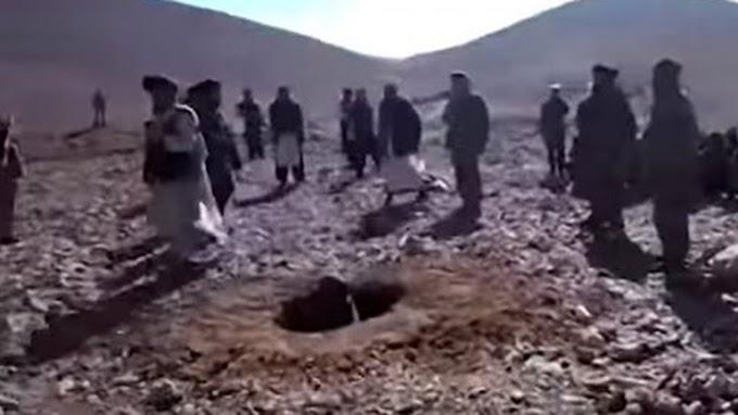 Afganistán: talibanes ejecutaron a pedradas a una mujer acusada de cometer adulterio