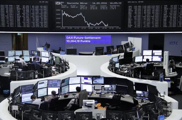 Image result for World stocks get twitchy before Trump-Clinton showdown
