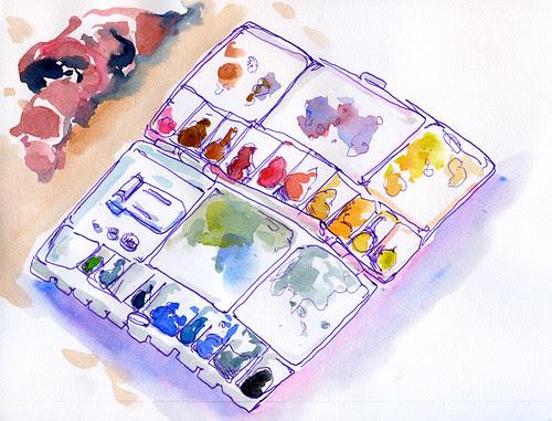 July 2011: Palette by apple-pine