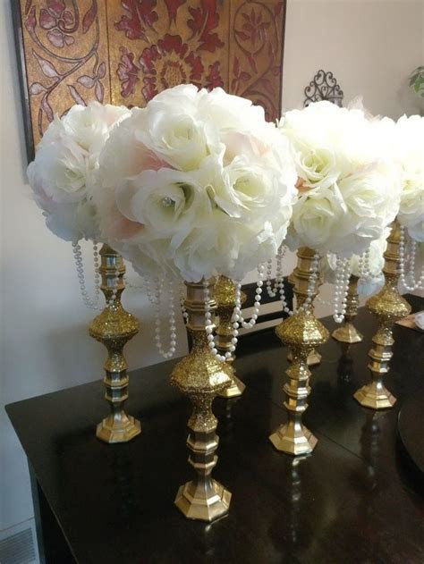 Dollar Store Candle Holders #weddinganniversarygifts