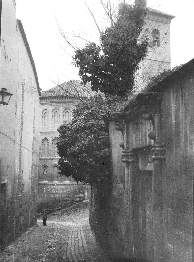 Iglesia de San Bartolomé (Toledo) en febrero de 1963. Fotografía de Eduardo Butragueño Bueno