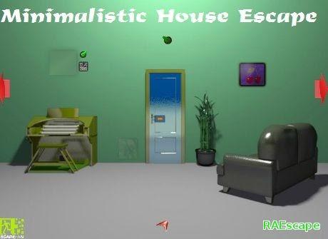 Raescape minimalistic house escape for Minimalist house escape walkthrough