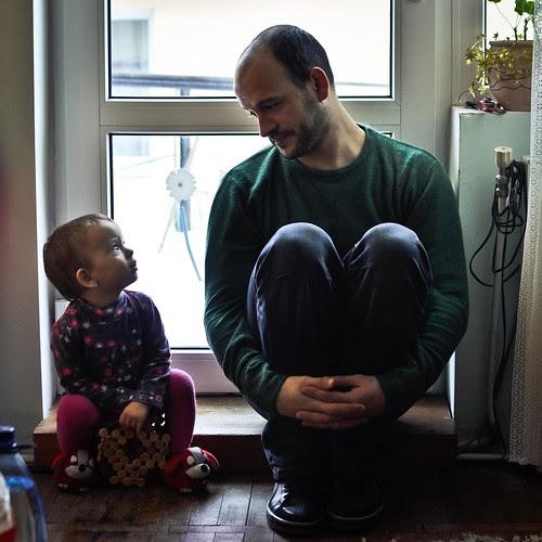Elisa et papa by martamaghiar