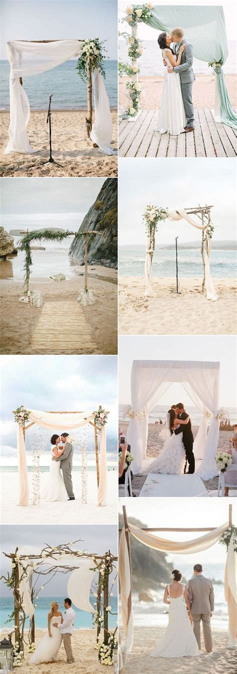 30 Brilliant Beach Wedding Ideas for 2018 trends   Sea You
