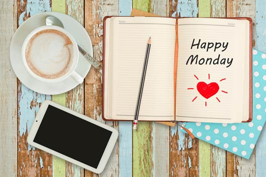 Happy Monday Quotes Morning Mamiverse Jpg Clipartingcom