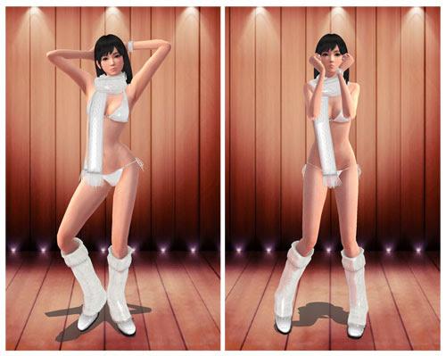 MMD Miu Hinasaki Bikini