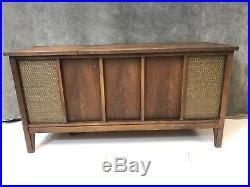 Mid Century Modern Stereo Console Record Player credenza ...