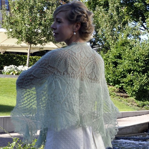 Wedding shawl by Asplund