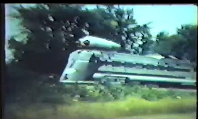 Unbeaten: The jet powered train was the fastest self-propelled train, but failed to take off