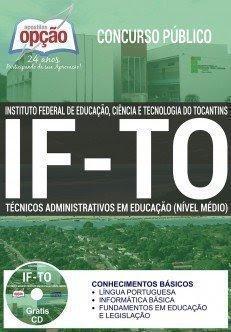 Apostila Concurso Instituto Federal do Tocantins - IFTO Assistente em Administração 2016