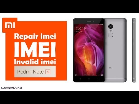 meziani: Repair imei Xiaomi MI Redmi Note 4 (Invalid Imei