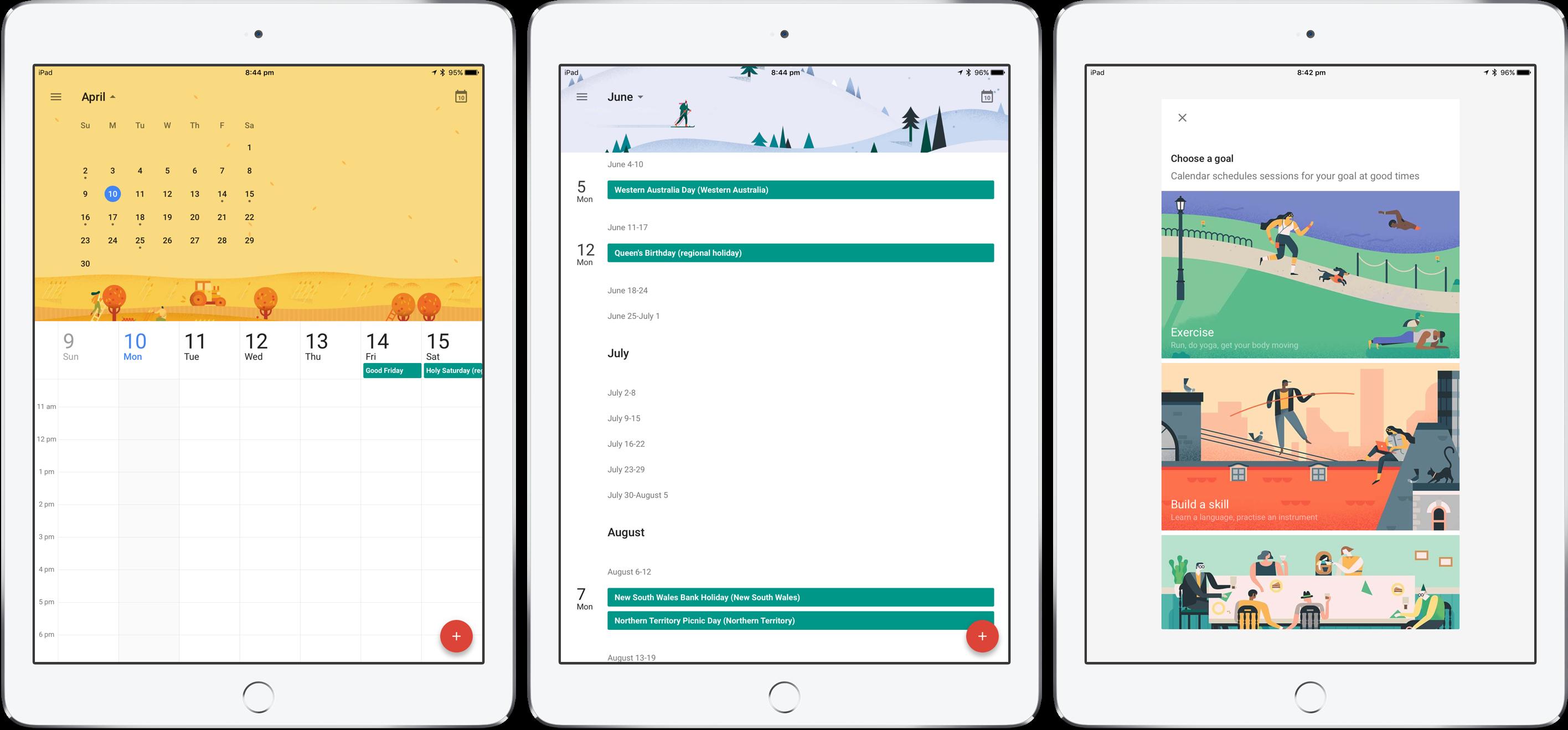 The best calendar apps for iPad