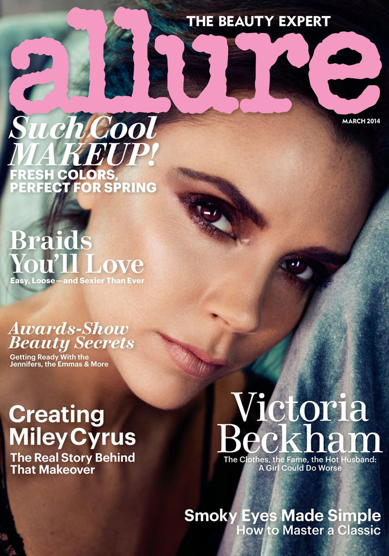 victoria beckham allure shoot Victoria Beckham Covers Allure, Says She Was Bullied in School