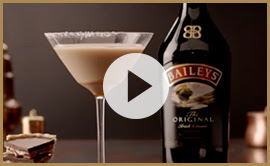 Salted Caramel Flat White martini