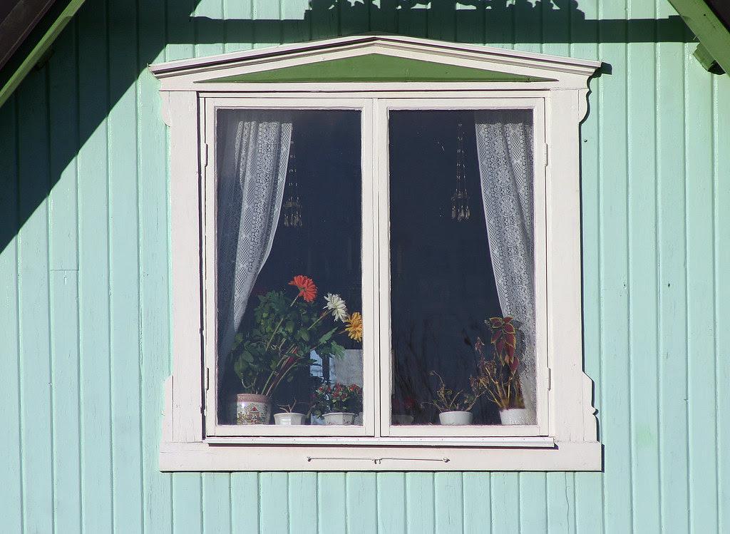 Historical Wooden Window