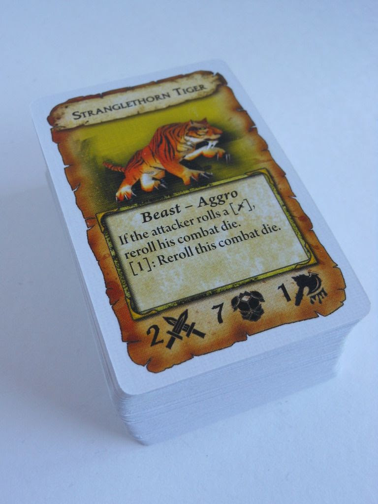 World of Warcraft: The Adventure Game yellow cards