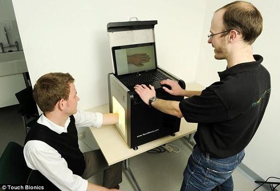Livingimage: dispositivo usado para desenvolver uma prótese bem mais realista
