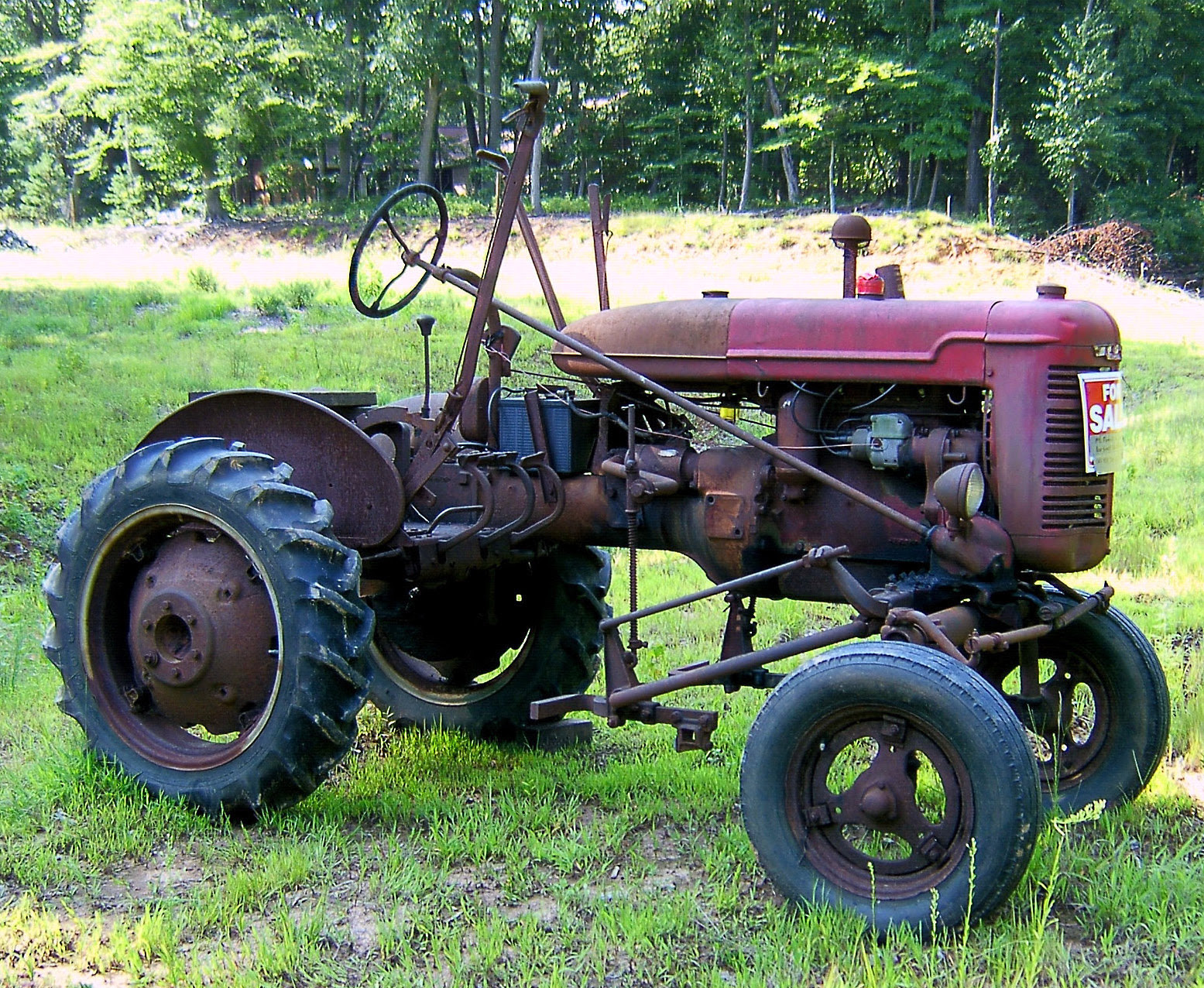 Old Rusted Antique Tractor For Sale Loves Photo Album