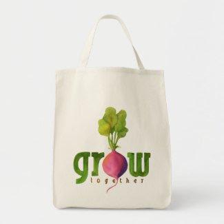 Grow Together (Radish) bag