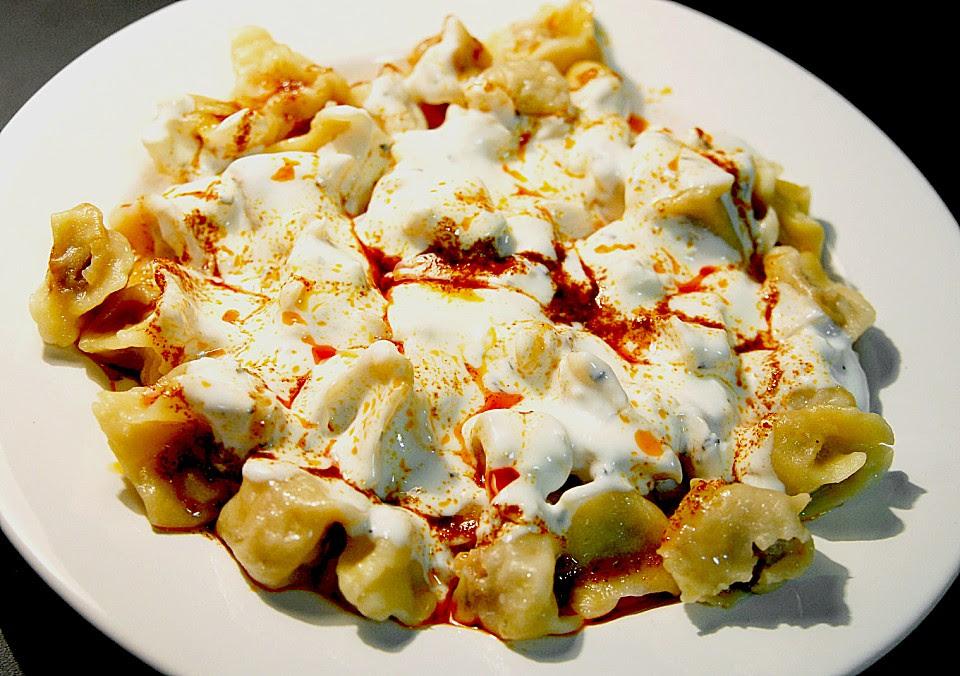 Manti Traditionelle Türkische Teigtaschen Rezept