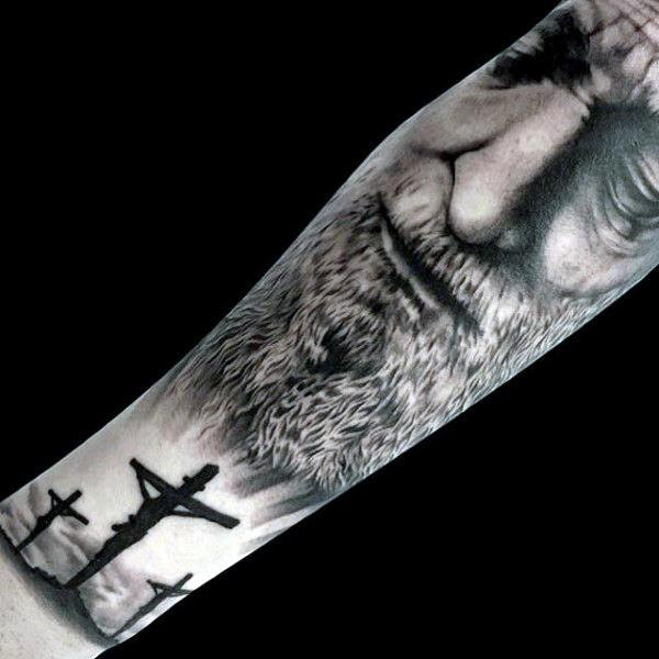 Jesus Tattoos For Men Ideas And Inspiration For Guys