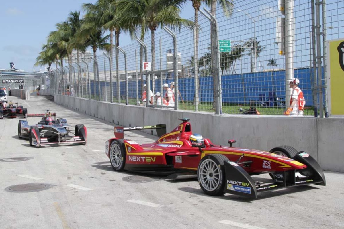 Formula E Racers Set Out to Change the World ... Quietly ...