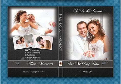 Wedding CD/DVD Cover ? Free PSD Brochure Template