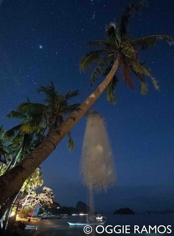 El Nido Corong Corong at Night