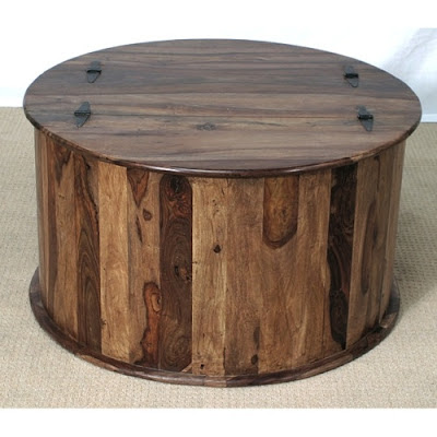 round coffee table/trunk