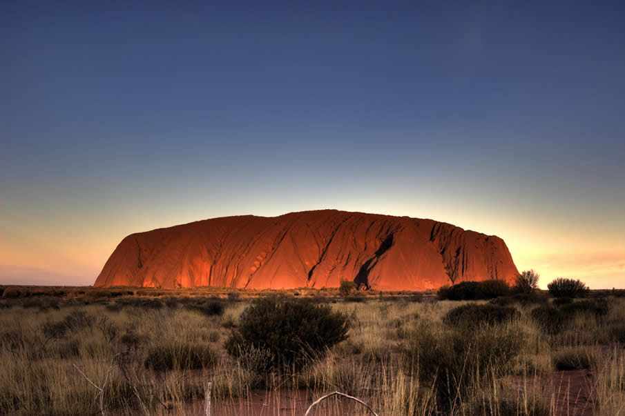 Uluru in the Northern Territory