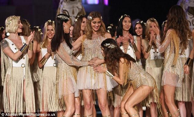 Bonito: foi um momento raro e emocionante no palco, quando eles apresentaram um show-stealing performance com Ana