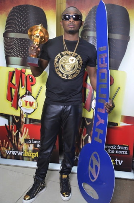 The Headies 2013 Sean Tizzle Photos: Olamide Dominates 2013 HEADIES Awards With 3 Wins + Full List of All Winners