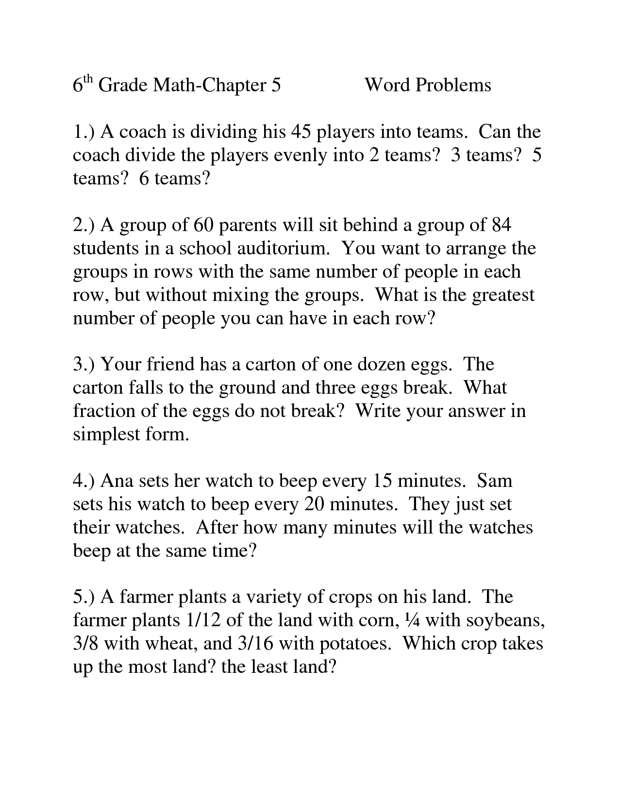 K5 Learning Grade 5 Math Word Problems Worksheet Answers Addition Word Problems Worksheets