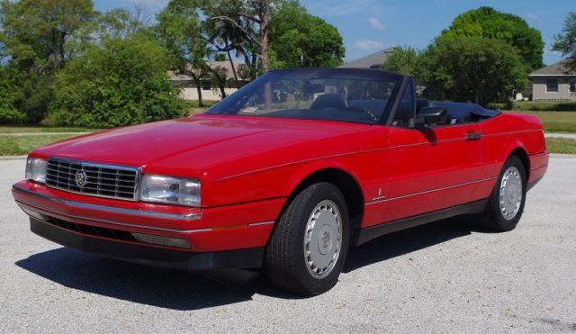 1990 Cadillac Allante convertible 112K miles fantastic ...