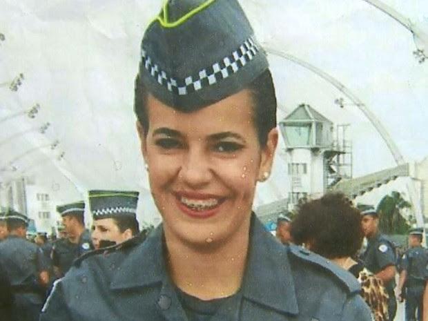 A policial militar Larissa Santos Belasco de Leme (Foto: Reprodução/EPTV)