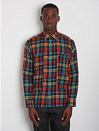 Raf Simons Men's Check Shirt 1