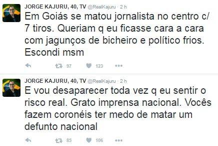 Jorge Kajuru no Twitter (Foto: Reprodução / Twitter)