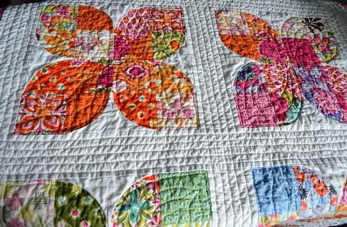 Butterflies - after washing, detail