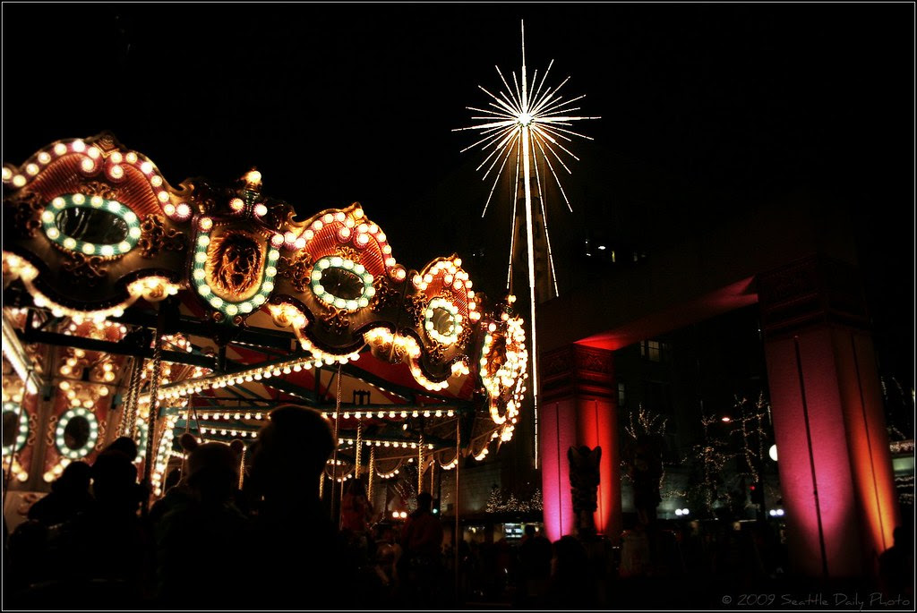 Star & Carousel Light Up the Night