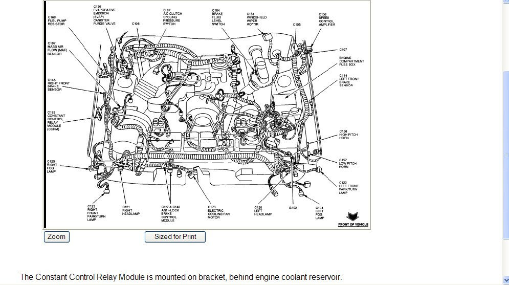 1998 Ford Mustang GT: 4.6L..cool..fuel pressure..fuel pump ...