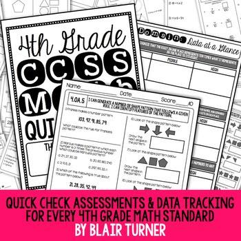 Quick Checks: 4th Grade Common Core Math