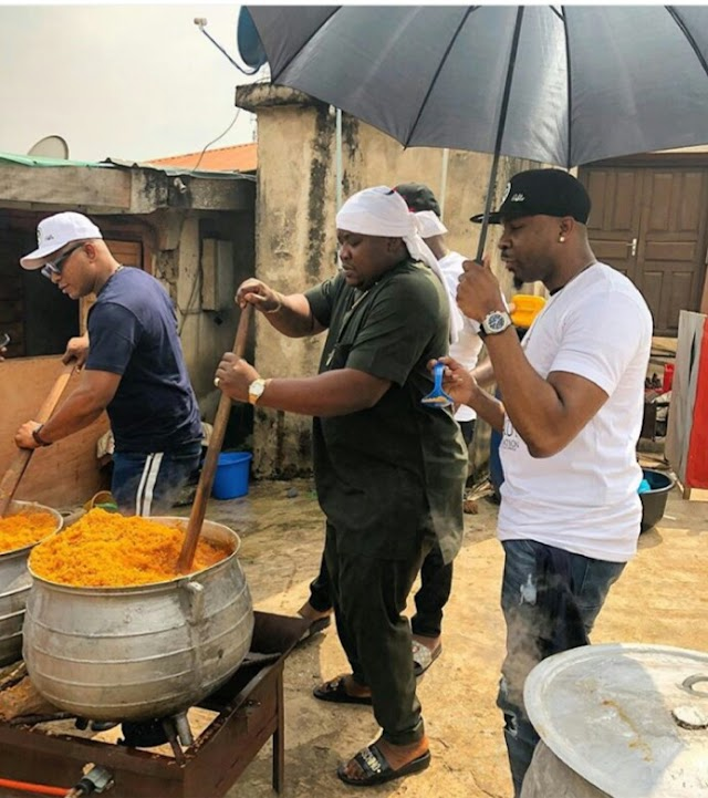 Cubana Chiefpriest & Pretty Mike Cooking For Kokun Foundation (Photo)