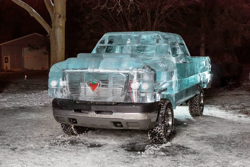 canadian tire builds drivable ice truck