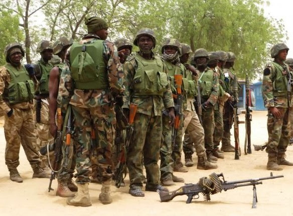 Soldiers Storm Niger Delta For Operation Crocodile Smile II