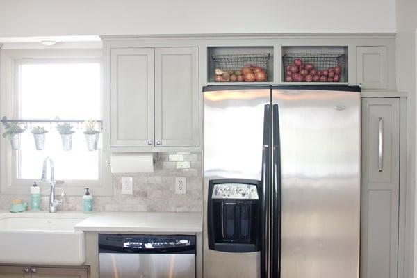 Remodelaholic | Remodeled Kitchen with Refinished Hardwood ...