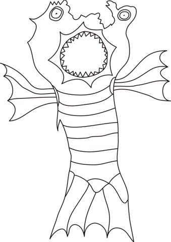 990 Top Coloring Pages Printable Monster Images & Pictures In HD
