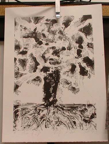 litho-graph tree of life