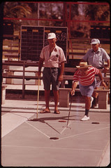 Shuffleboard Is Popular at the Century Village...