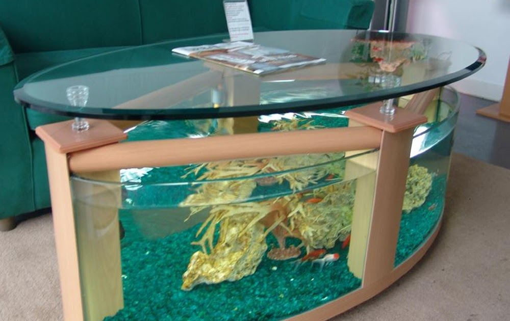 Table aquarium fish tank kids art decorating ideas for Google fish tank mrdoob
